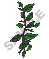 TREE BRANCH embroidery design