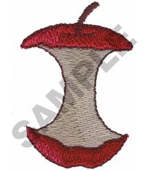 APPLE CORE embroidery design