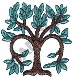 TREE DESIGN embroidery design