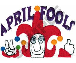 APRIL FOOLS POCKET TOPPER embroidery design