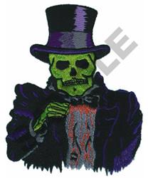 SKELETON embroidery design