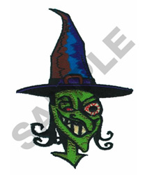 CRAZY WITCH embroidery design