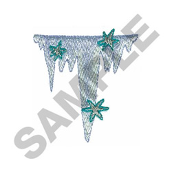 ICICLES embroidery design