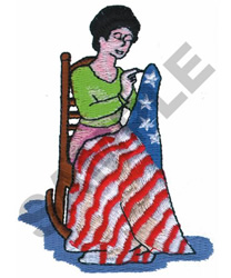 BETSY ROSS embroidery design