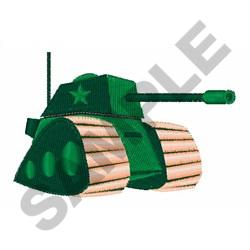 KIDS ARMY TANK embroidery design