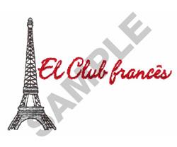 EL CLUB FRANCES embroidery design
