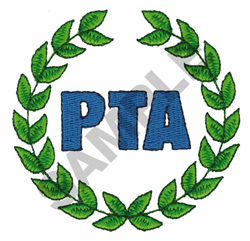 PTA embroidery design