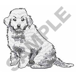 Great Pyrenees Embroidery Design