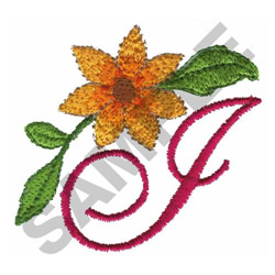 FLORAL I embroidery design