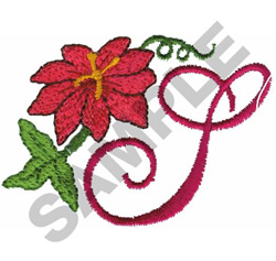 FLORAL S embroidery design