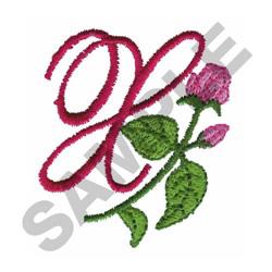 FLORAL Y embroidery design