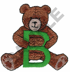 TEDDY BEAR B embroidery design