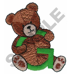 TEDDY BEAR G embroidery design
