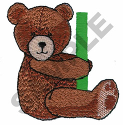TEDDY BEAR I embroidery design