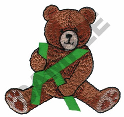 TEDDY BEAR K embroidery design