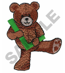 TEDDY BEAR L embroidery design