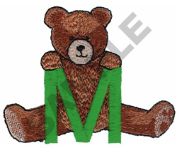 TEDDY BEAR M embroidery design