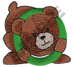 TEDDY BEAR O embroidery design