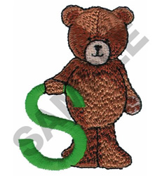 TEDDY BEAR S embroidery design