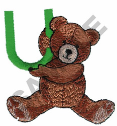 TEDDY BEAR U embroidery design