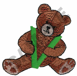 TEDDY BEAR V embroidery design