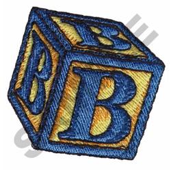 TOY BLOCKS B embroidery design