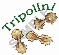 TRIPOLINI embroidery design