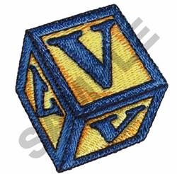 TOY BLOCKS V embroidery design