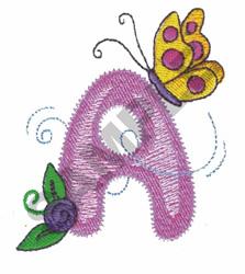 GARDEN GIRL A embroidery design