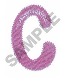 BUBBLE GUM C embroidery design