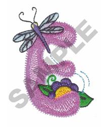 GARDEN GIRL E embroidery design