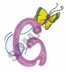 GARDEN GIRL G embroidery design