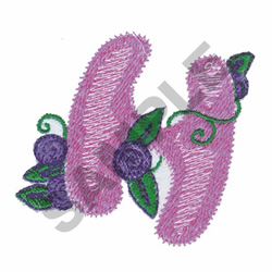 GARDEN GIRL H embroidery design