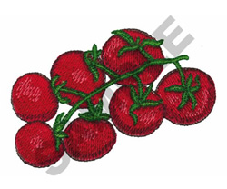 TOMATOES embroidery design