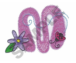 GARDEN GIRL M embroidery design