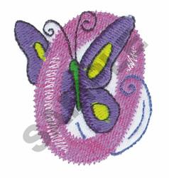 GARDEN GIRL O embroidery design