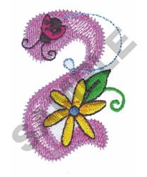 GARDEN GIRL Z embroidery design