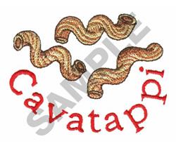 CAVATAPPI embroidery design