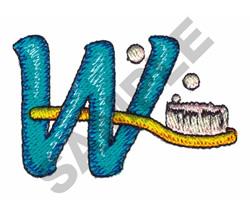 LT W embroidery design