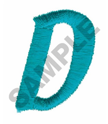 LT D embroidery design