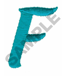 LT F embroidery design