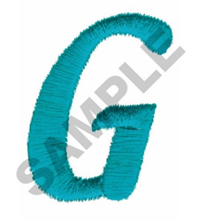 LT G embroidery design