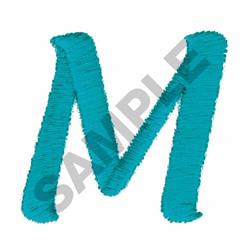 LT M embroidery design