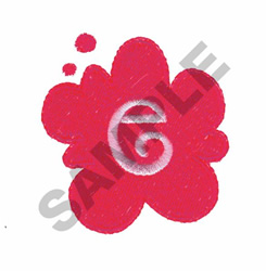 FUNKY E embroidery design