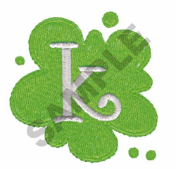 FUNKY K embroidery design