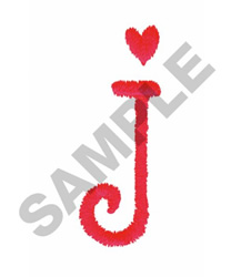 FUN J embroidery design