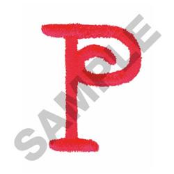 FUN P embroidery design