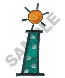 BRIGHT ALPHA LOWER CASE I embroidery design