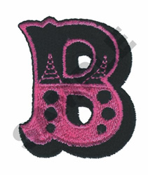 CIRCUS B embroidery design