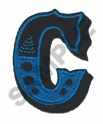 CIRCUS C embroidery design